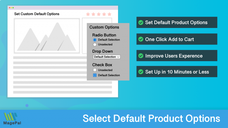Custom Default Options for Magento 2