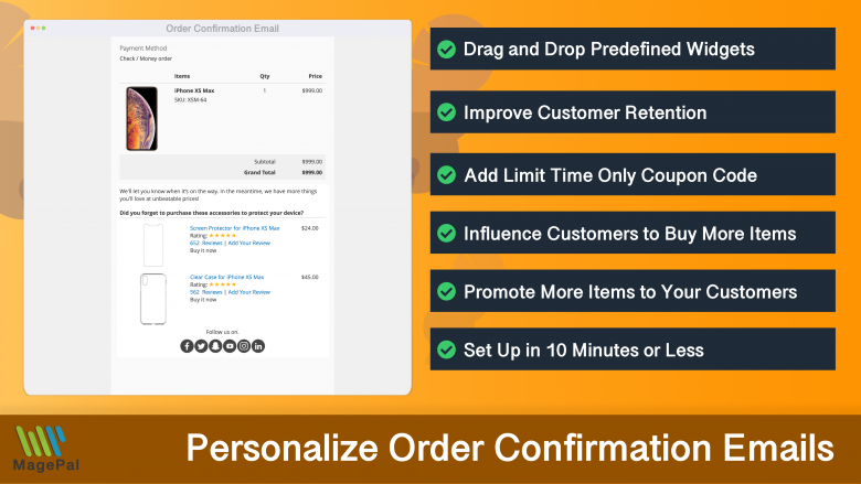 Email Promotional Items for Magento 2